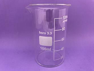 Стакан мерный высокий  100мл. Boro3.3