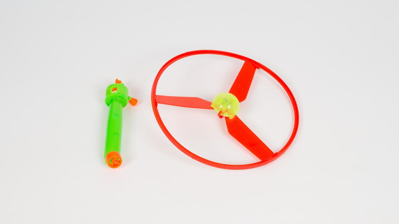 Вертушка на запуске. 2 цвета