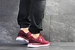 Чоловічі кросівки Under Armour (бордові), фото 2