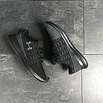 Чоловічі кросівки Under Armour (чорно-сірі), фото 6