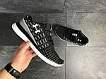 Мужские кроссовки Under Armour (черно-белые) , фото 2