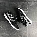 Чоловічі кросівки Under Armour (чорно-білі), фото 3