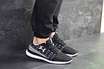 Мужские кроссовки Under Armour (черно-белые) , фото 5