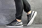 Мужские кроссовки Under Armour (черно-белые) , фото 6