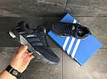 Мужские кроссовки Adidas Marathon (темно-синие), фото 5
