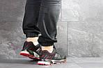 Мужские кроссовки Adidas Marathon (черно-красные), фото 4