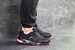 Мужские кроссовки Adidas Marathon (черно-красные), фото 5