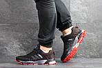 Мужские кроссовки Adidas Marathon (черно-красные), фото 6