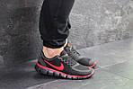 Мужские кроссовки Nike Free Run 5.0 (черно-красные) , фото 4