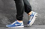 Чоловічі кросівки Nike Free Run 5.0 (синьо-білі), фото 3