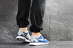 Чоловічі кросівки Nike Free Run 5.0 (синьо-білі), фото 4