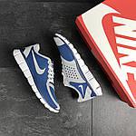 Чоловічі кросівки Nike Free Run 5.0 (синьо-білі), фото 5