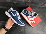 Чоловічі кросівки Nike Free Run 5.0 (синьо-білі), фото 6