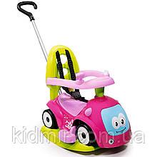 Машина-каталка толокар Маестро с качелей розовая 4-в-1 Maestro Smoby 720303