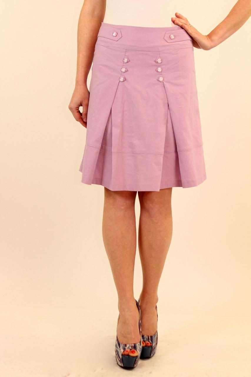 Летняя юбка в складку 42-48 р