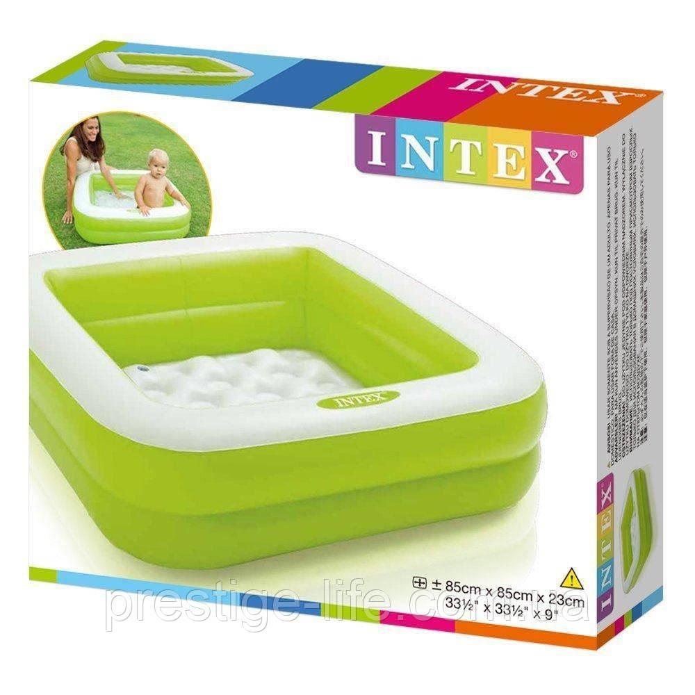 Детский надувной бассейн Размер: 85x85x23 см. 57100NP Intex