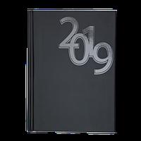Записная книга А5 buromax bm.24571101-01 черная double на пружине на 96 листов в клетку