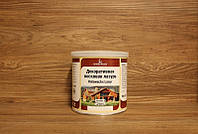 Масляная морилка с воском, средний орех (59), Holzwachs Lasur 750 мл., Borma Wachs
