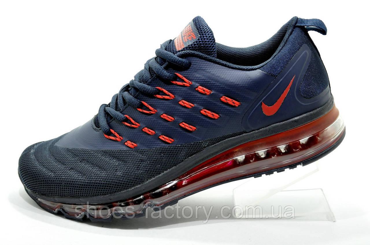 Кроссовки для бега в стиле Nike Air Max 2018 Mens, Dark Blue\Red