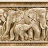 Коллекция Сафари / SAFARI темно-коричневая(слоны), фото 6