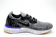 Мужские кроссовки в стиле Nike React 2019, Gray\White, фото 3
