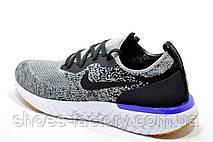Мужские кроссовки в стиле Nike React 2019, Gray\White, фото 2