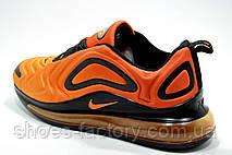 Мужские кроссовки в стиле Nike Air Max 720, Black\Orange, фото 2