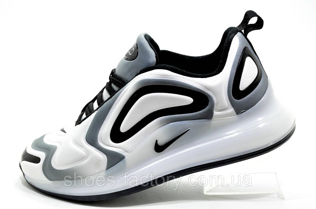 Мужские кроссовки в стиле Nike Air Max 720 Sunset, White\Gray