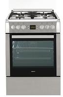 Газовая плита Beko CSM 62322 DX ( 60 см, электрическая духовка,серебристый )