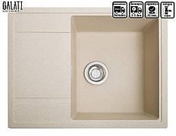 Кухонная мойка гранитная Galati Jorum 65 (650*500*217) Avena (501)