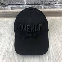 Модная Бейсболка Givenchy черная унисекс Турция Качество VIP Трендовая мужская женская Живанши реплика