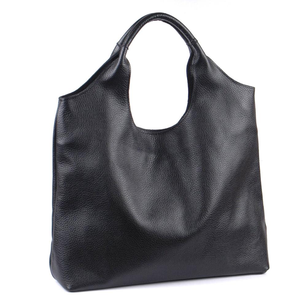 Женская кожаная сумка 5 черный флотар 01150101