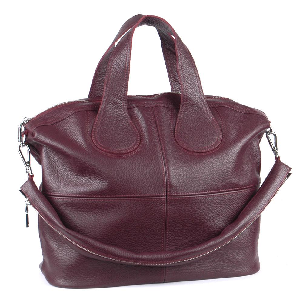 Женская кожаная сумка 22 виноград 01220104