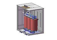 Трансформатор напряжения ТСЗЛ-630 кВА 6/0,4 В силовой масляный трехфазный