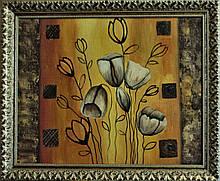 Картина масло, холст 40х50 Lubov Vakulenko № 2070