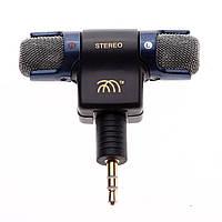 Внешний микрофон для камеры GoPro Hero 3 + адаптер переходник 3.5мм