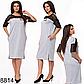 Летнее женское платье миди с карманами (бутылка) 828813, фото 2