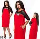 Летнее женское платье миди с карманами (бутылка) 828813, фото 4