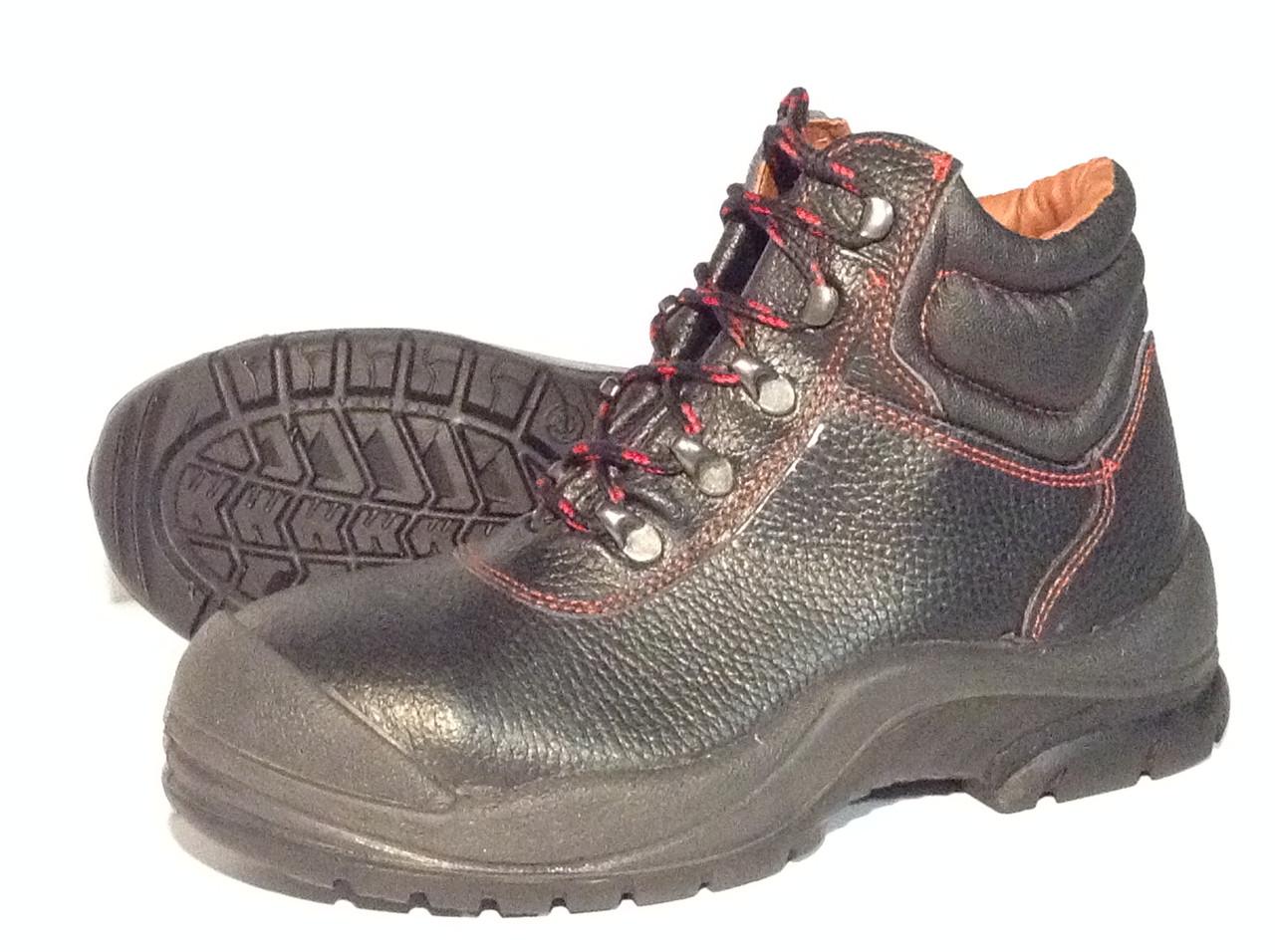 Ботинки Wurth кожаные с полунаплывом