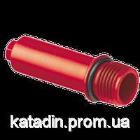 Заглушка резьб. 20x1/2 RED (длинная) 700\70 Aqua Pipe