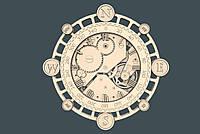 Часы настенные деревянные под заказ от производителя