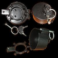 Защита крышки бака с двумя ключами