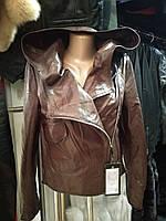 Куртка косуха из натуральной кожи.