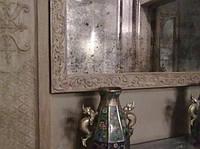 Состаренное зеркало на заказ
