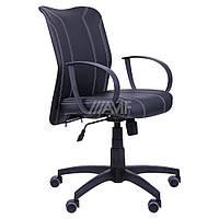 Кресло компьютерное Лайт LB Софт АМФ-8 Неаполь N-20 нитка белая