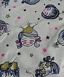 Комплект для девочек: Джемпер+штаны Бежевый Breeze Турция, фото 2