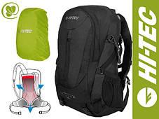 Трекинговый вело рюкзак HI-TEC Ambatha V-Lite  35 Л,черный,система вентиляции спины Air-Flow, фото 2
