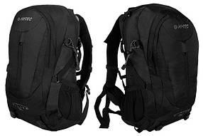 Трекинговый вело рюкзак HI-TEC Ambatha V-Lite  35 Л,черный,система вентиляции спины Air-Flow
