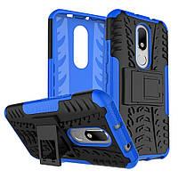 Чехол Armor Case для Motorola Moto M XT1662 / XT1663 Синий