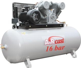 Стационарная поршневая компрессорная установка серии AirCast, Remeza
